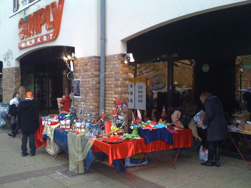 Le Marché de Noël de l'association Envol-Moi à Sucy-en-Brie