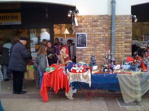 L'association Envol-Moi fait son marché de Noël à Sucy-en-Brie