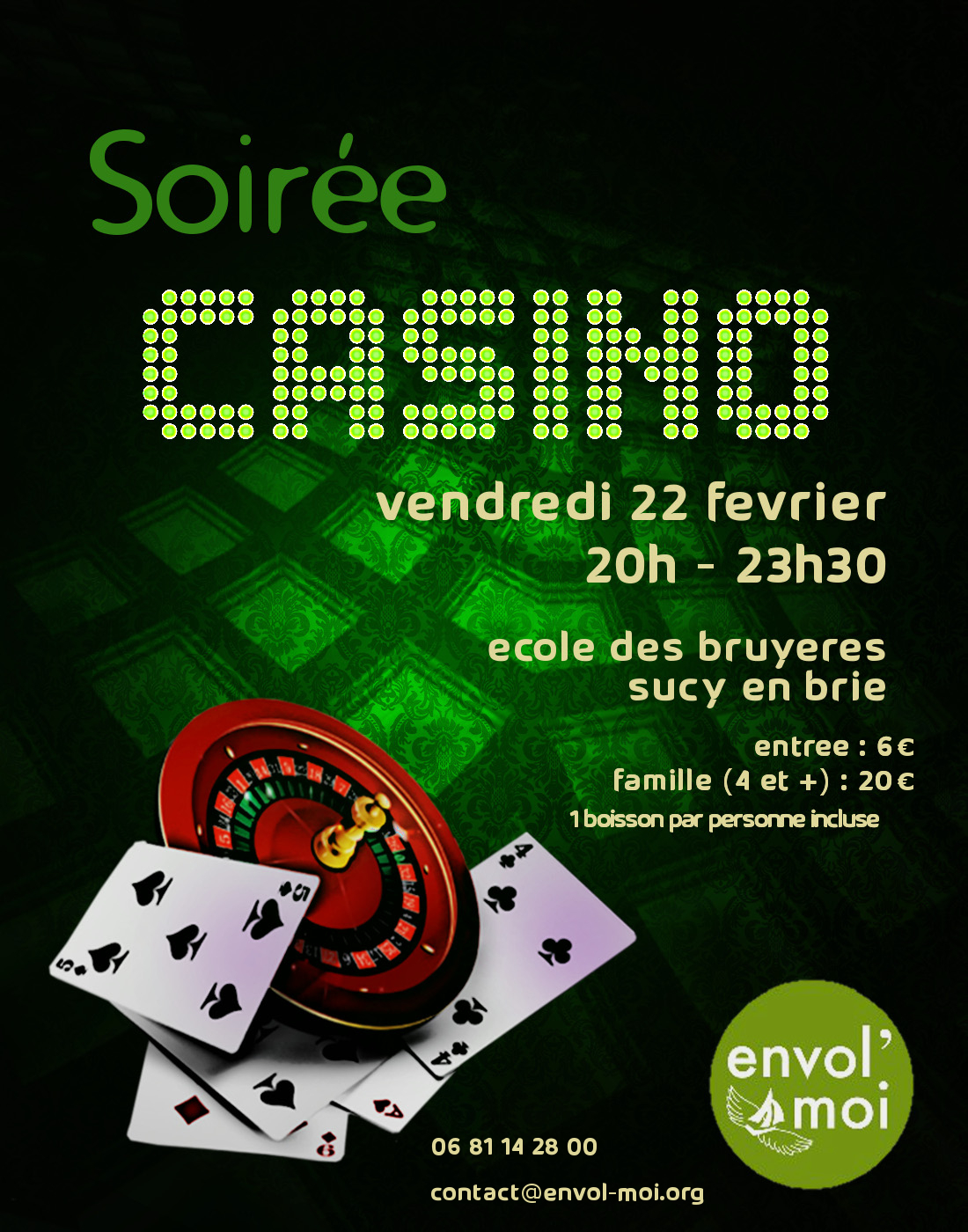 Casino Gaming School Learn to deal Blackjack Craps