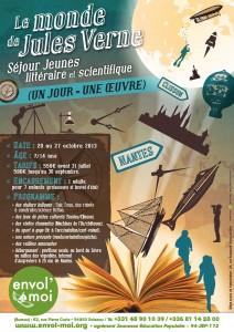 Le monde de Jules Verne_affiche