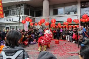 Le Jeu de piste du Nouvel An Chinois