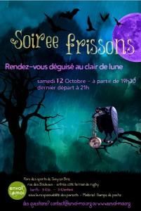 Soirée Frissons 2013 à Sucy
