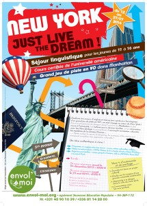 Affiche du séjour NY Just Live The Dream 2014