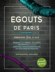 Les egouts de Paris
