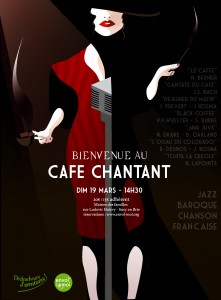 AFFICHE Cafe Chantant